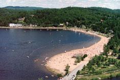 plage lac des sables - auberge romantique